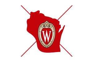 Inappropriate use of the UW logo: different logo.