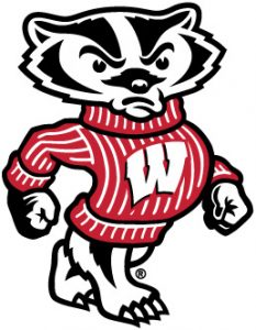 Bucky Badger logo