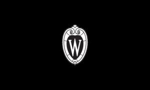 UW Crest, black & white