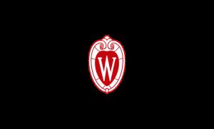 UW Crest, red