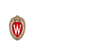 UW logo, flush, reversed