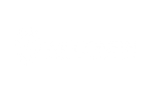UW logo, outline, flush, reversed